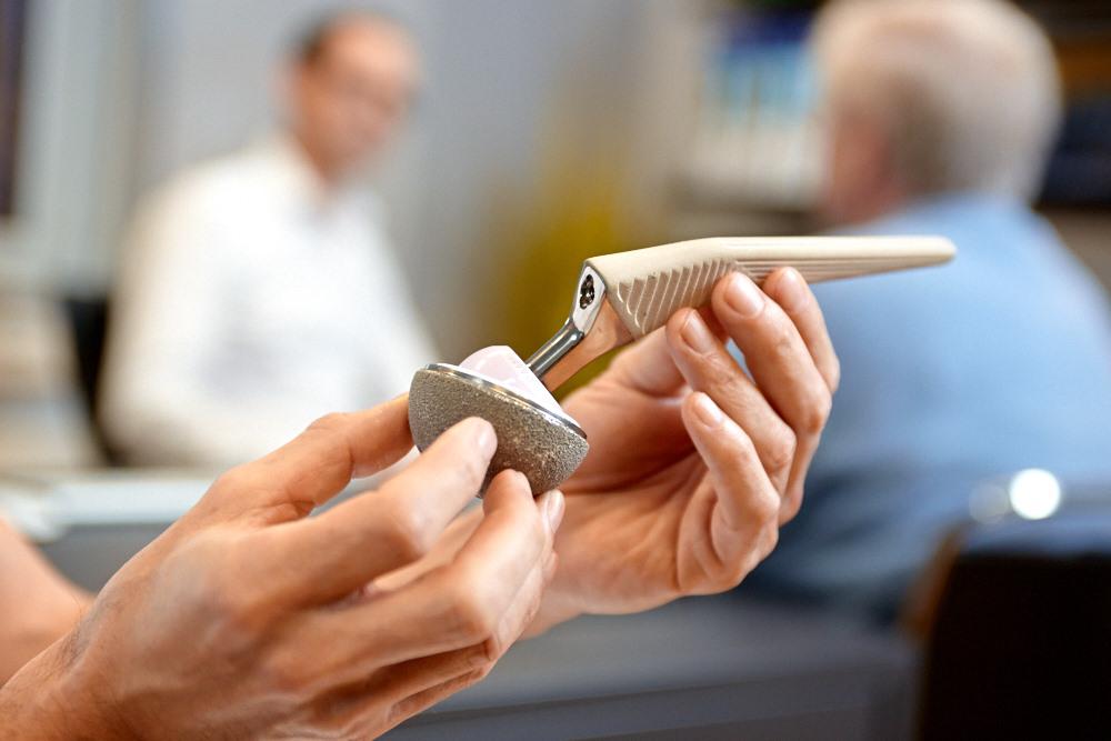 Bild einer Hüftendoprothese